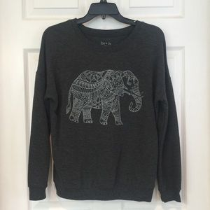BNWOT Zoe + Liv Elephant Sweatshirt